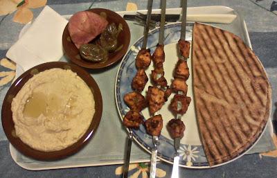 recettes plats  Shish taouk (recette Libanaise)