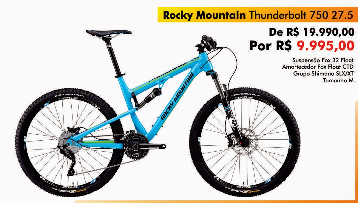 Rocky Mountain Thunderbolt 750 27.5