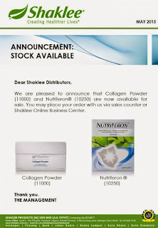 Stock Available : Collagen & NutriFeron