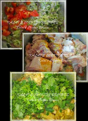 Kalai's Special Chicken Biryani