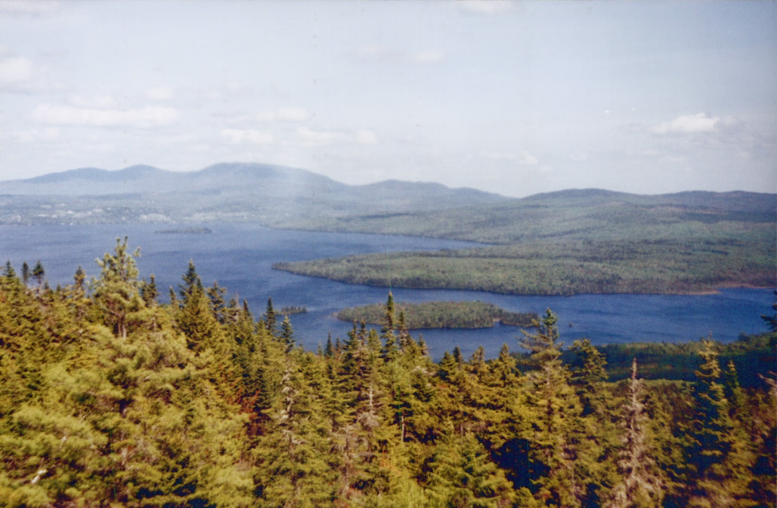Rangeley, Maine from the Height of Land