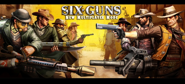 Six-Guns apk , Six-Guns v1.1.8 [Money Mod] Apk , Games