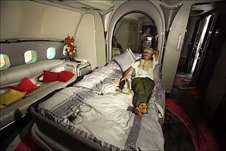 Libya President's Plane