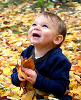 Loving leaves in the fall