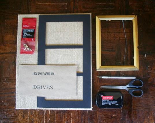 Thumb Drive Holder // Supplies
