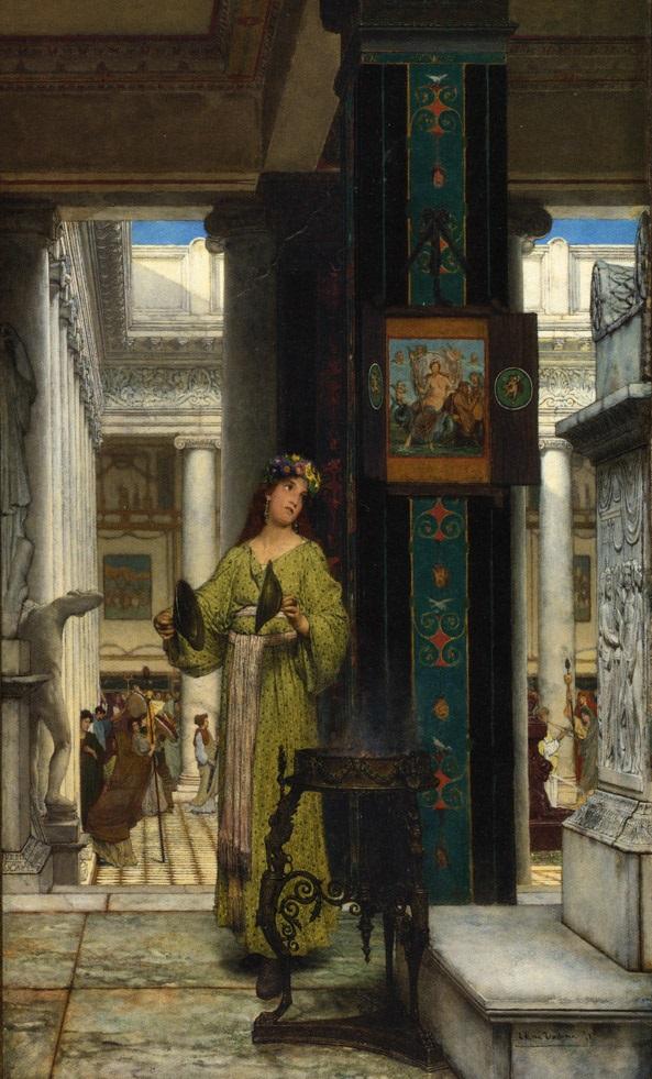 Greek Temple,Lawrence Alma Tadema,5 stars