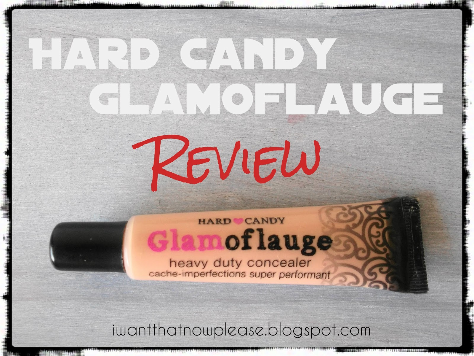 She's a Beaut: Hard Candy Glamoflauge Heavy Duty Concealer in ...
