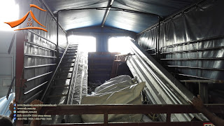 Another 3 blocks of 15 Meter Marquee Tent been installed at Jalan Kebun, Klang on 02/05/2015. This structure will be perment therefore we have used wall plugs to support it.