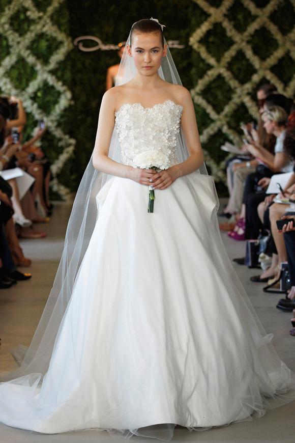 Oscar de la Renta 2013 Bridal Gowns Collection