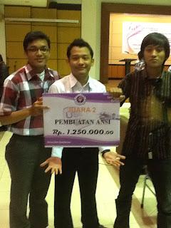 Juara 2 Lomba USB Kategori ANSI Universitas Gunadarma