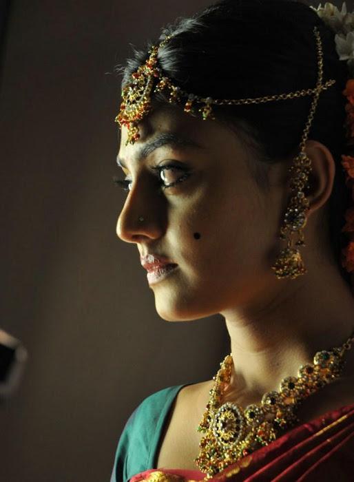 nikitha narayan looking in saree new actress pics