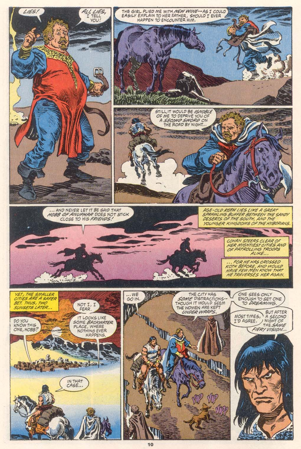 Conan the Barbarian (1970) Issue #252 #264 - English 9