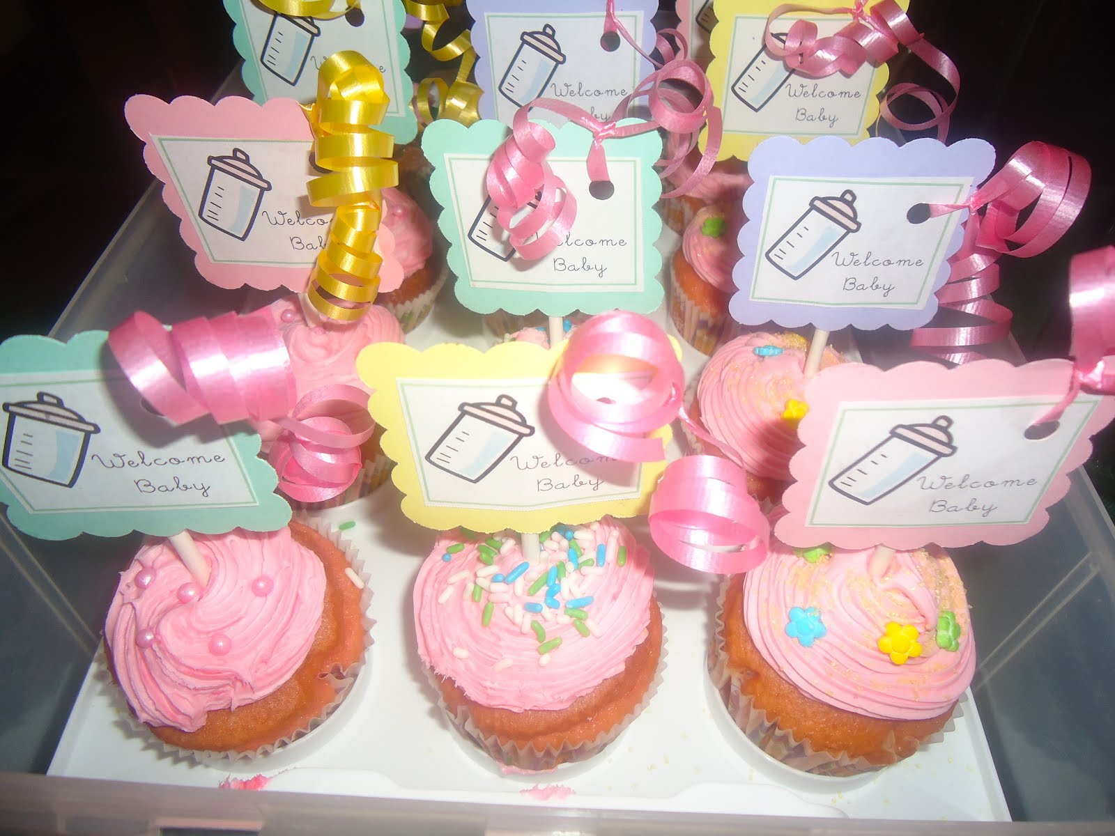 Baby Shower Girl Recipes ~ Recipe for a home girl baby shower