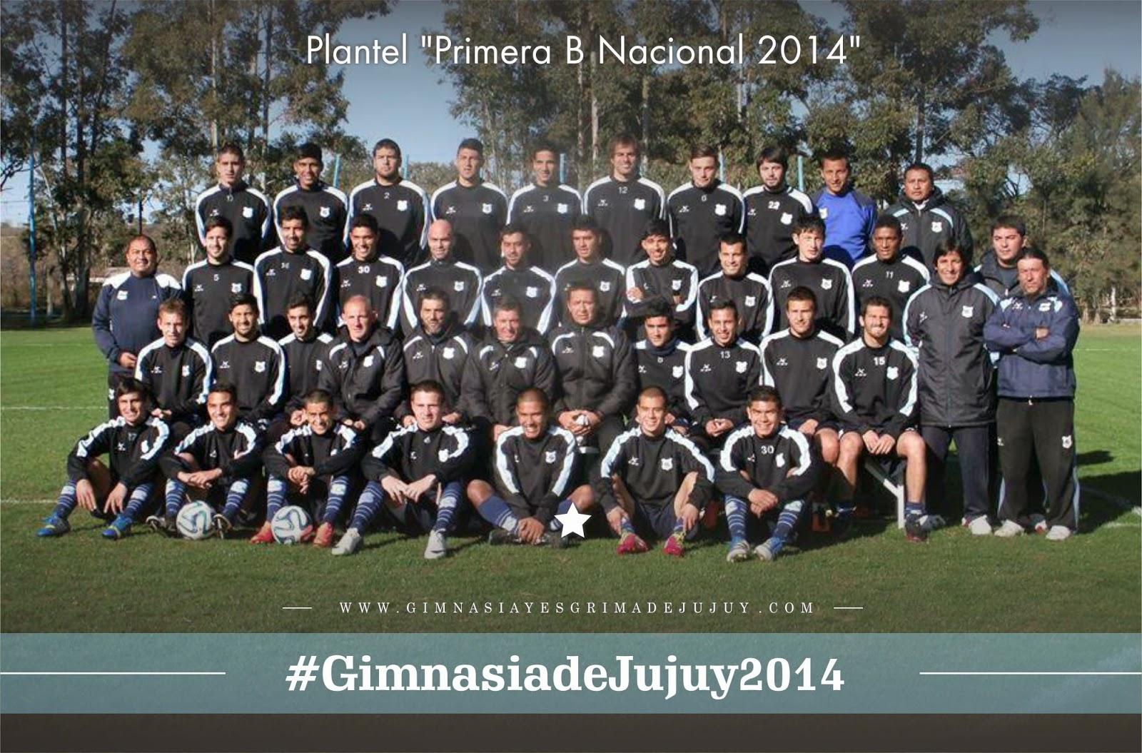 Gimnasia de Jujuy, plantel 2014