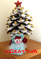 Centro tavola natalizio con pigne e palline tutorial kreattivablog - Centro tavola natalizio con pigne ...