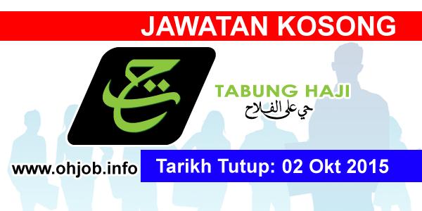 Jawatan Kerja Kosong Lembaga Tabung Haji (TH) logo www.ohjob.info oktober 2015