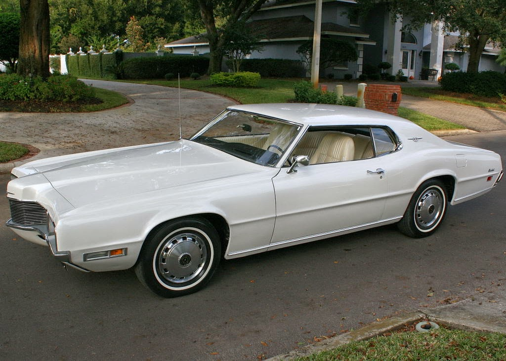 All American Classic Cars 1970 Ford Thunderbird 2 Door