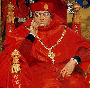 cardinal wolsey English cardinal and statesman, born at ipswich about 1475, was son of robert wolsey (or wuley, as his name was always spelled) by his wife joan his.