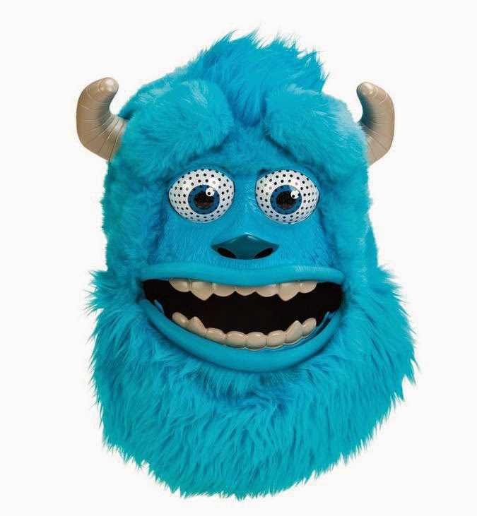 Máscara Peluche Sulley Monstruos University