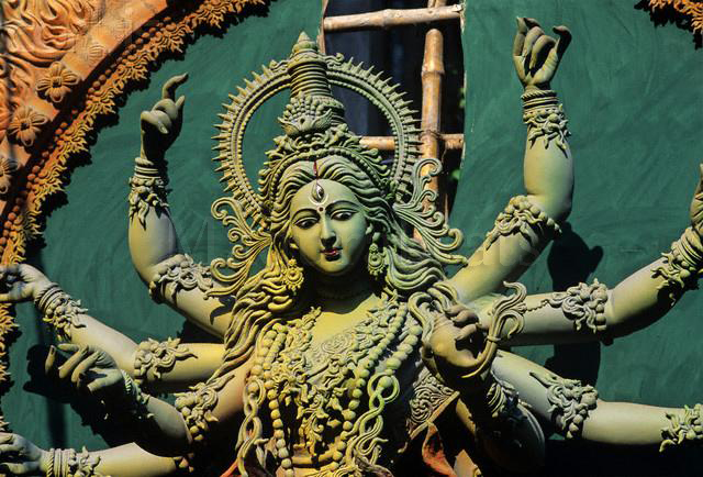 Beautiful Lord Durga Deity