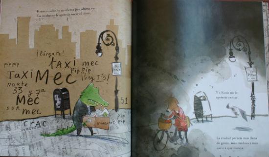 Libro infantil Herman y Rosie