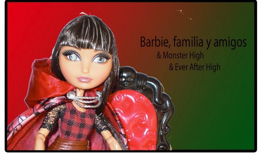 Barbie, familia y amigos