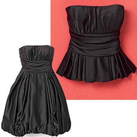 Топ от бална рокля