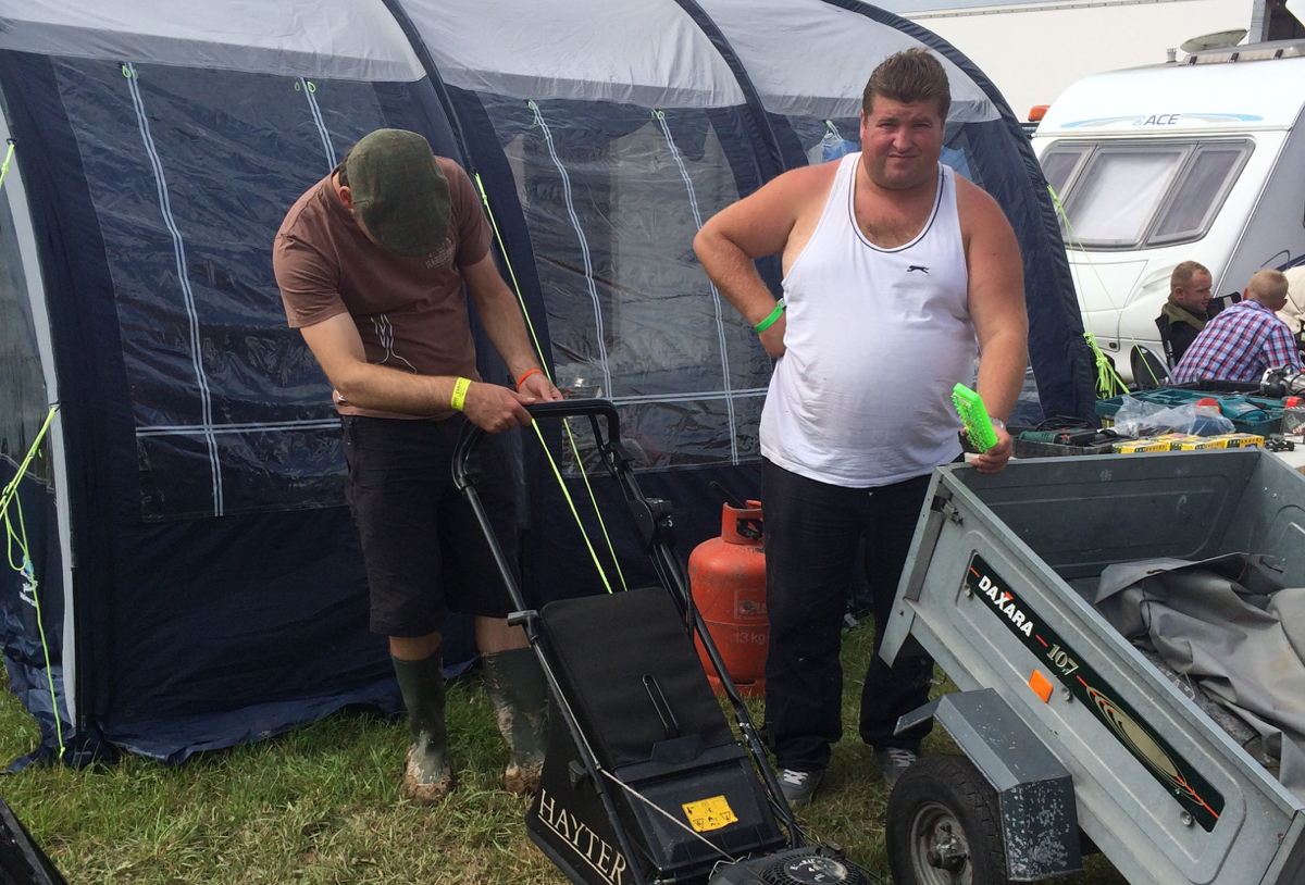 GDSF 2014 - Buying a lawnmower