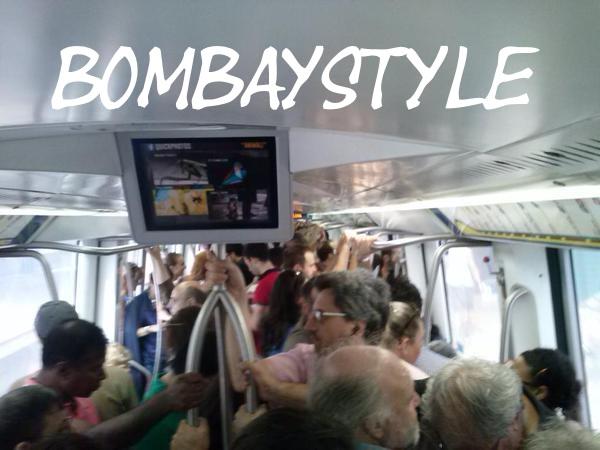 Roma-Lido come a Bombay