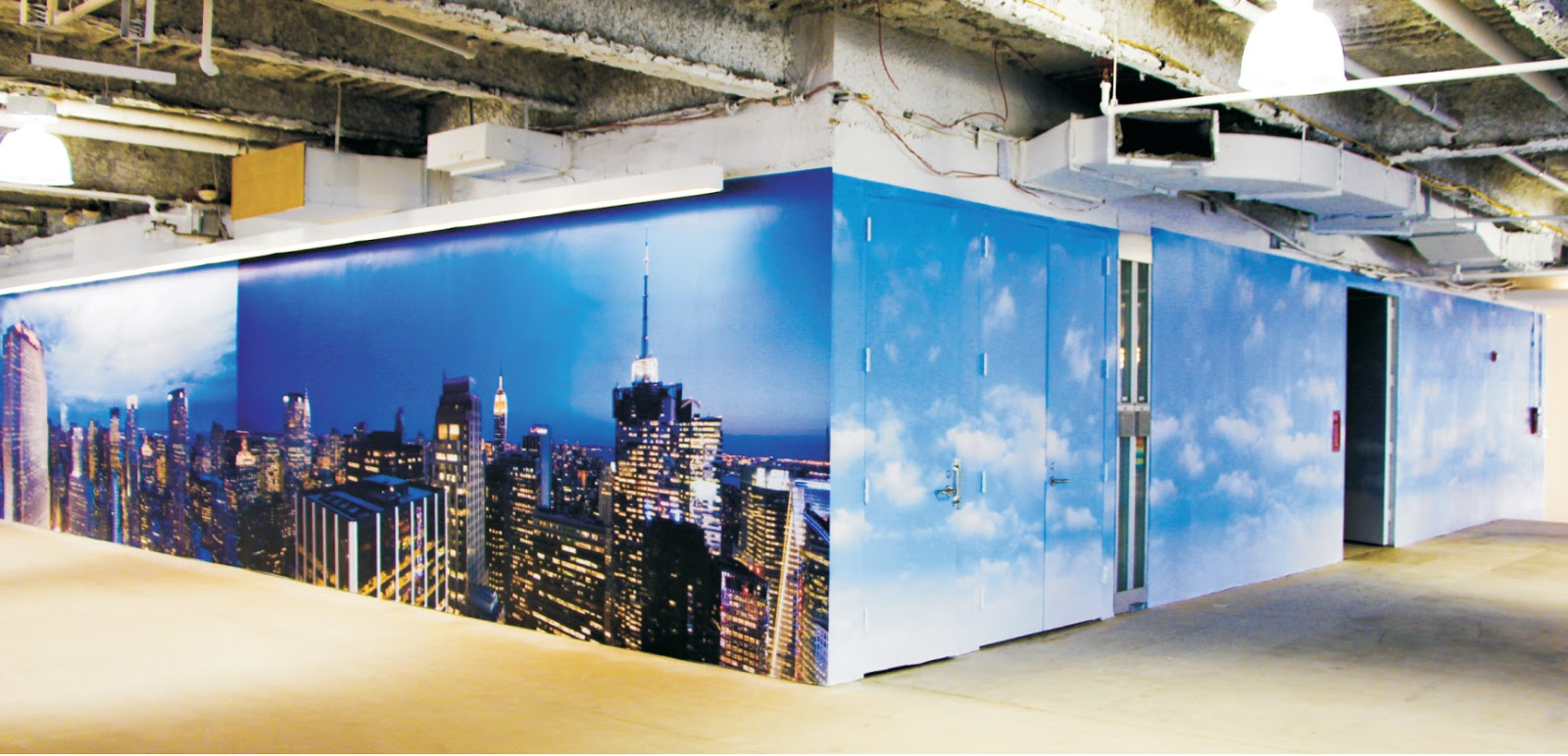 Trade Show Booth Graphics : Print city ny nyc printer trade show floor graphics and