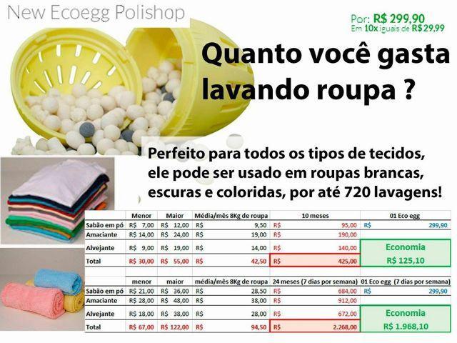 Ganhe mais de R$ 4.000,00 vendendo o Ecoegg Polishop