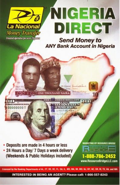 Nigerian mail scam money transfter poster