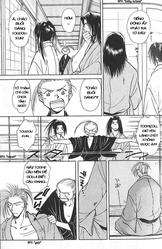 Soshite Haru No Tsuki chap 2 - Trang 10