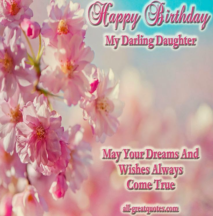 images of birthday wishes for daughter - photo #10