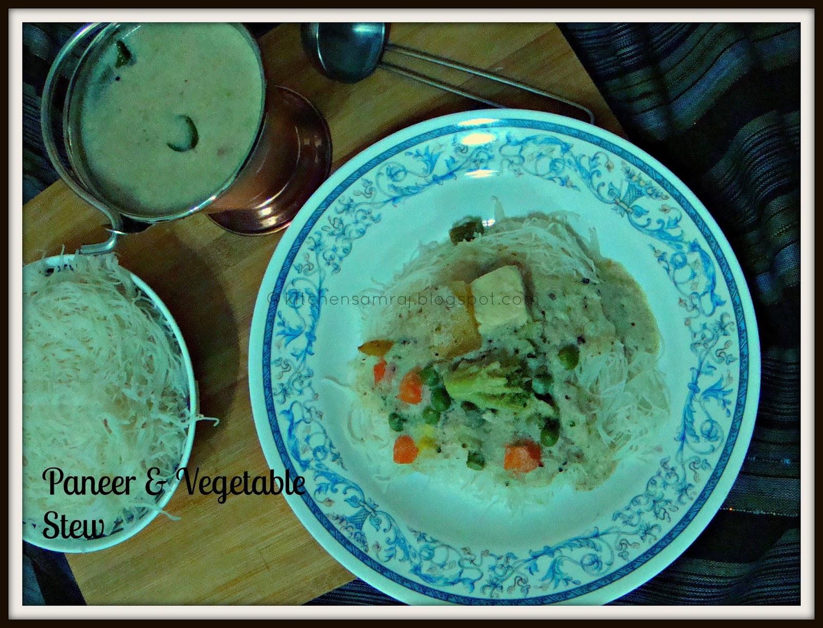 Paneer & Vegetable Stew | Kitchen Samraj!