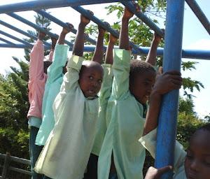 Kids Hanging Around