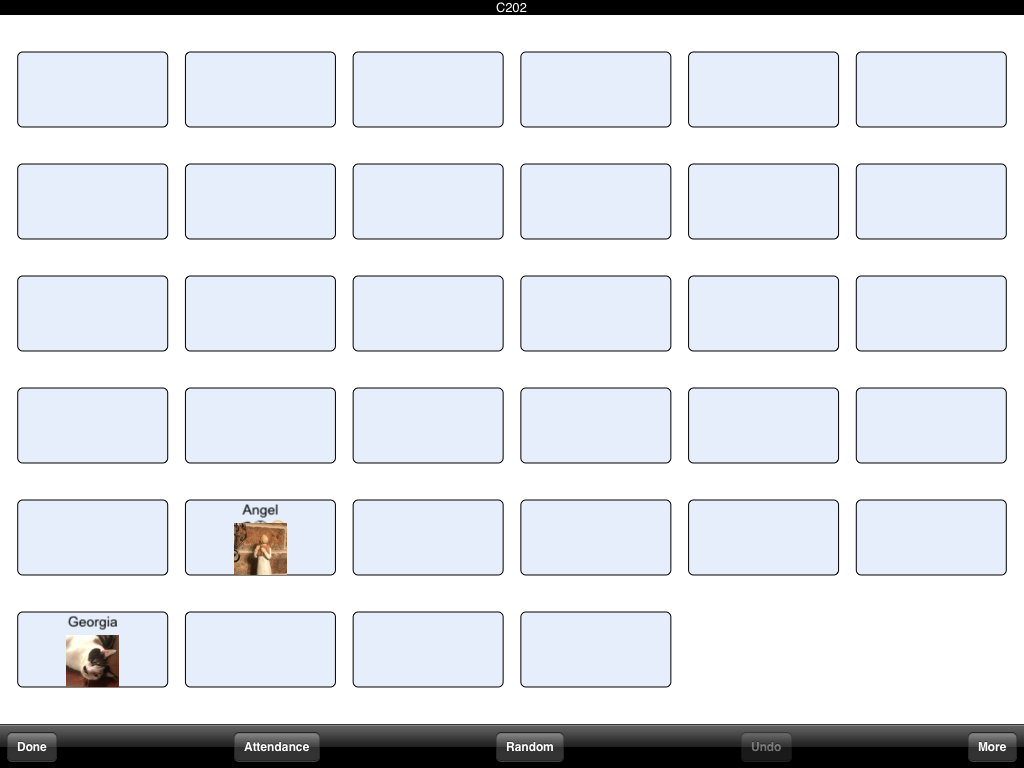 Seating Chart Generator Classroom Seating Chart Template