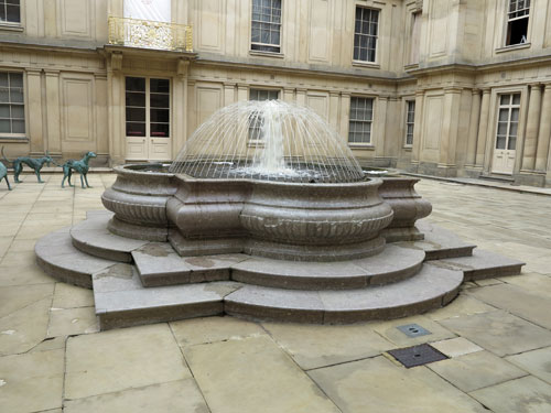 Chatsworth House fountain