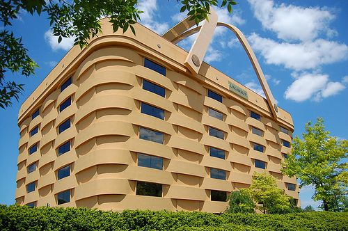 Marvelous The Worldu0027s Largest Basket Building, It Is Actually An Office Building And  It Houses The Headquarters Of Longaberger Basket Company. Awesome Ideas