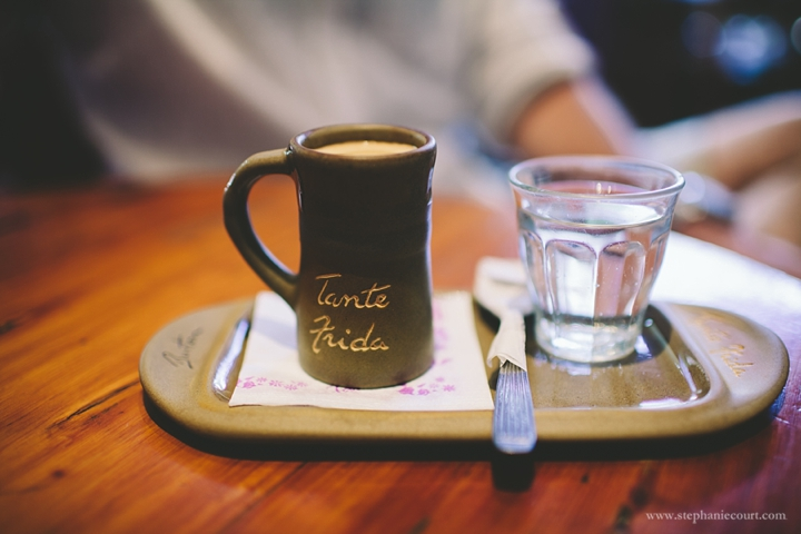"""coffee at tante frida in bariloche"""