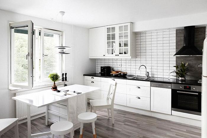 Como decorar y aprovechar cocinas peque as alquimia deco - Aprovechar cocinas pequenas ...