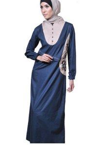 Manet Gamis 3170 - Biru Dongker (Toko Jilbab dan Busana Muslimah Terbaru)