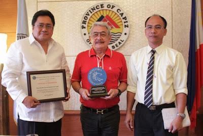 Capiz wins BSP Award