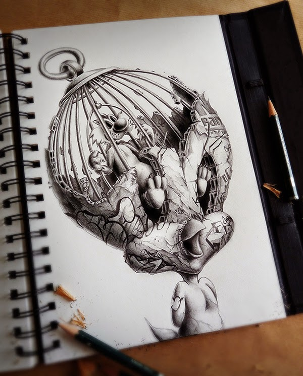 Distroy, por PEZ Artwork, Tweety
