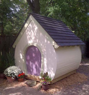 Aplaceimagined garden whimsy for Whimsical playhouses