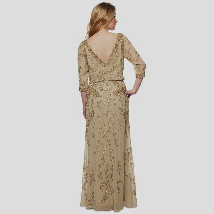 No. 1 Jenny Packham Dress: Affordable Wedding Dresses - Gold