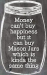Happiness in jars