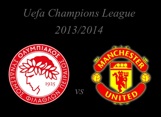 Olympiakos vs Manchester United Champions League Round of 16 2014