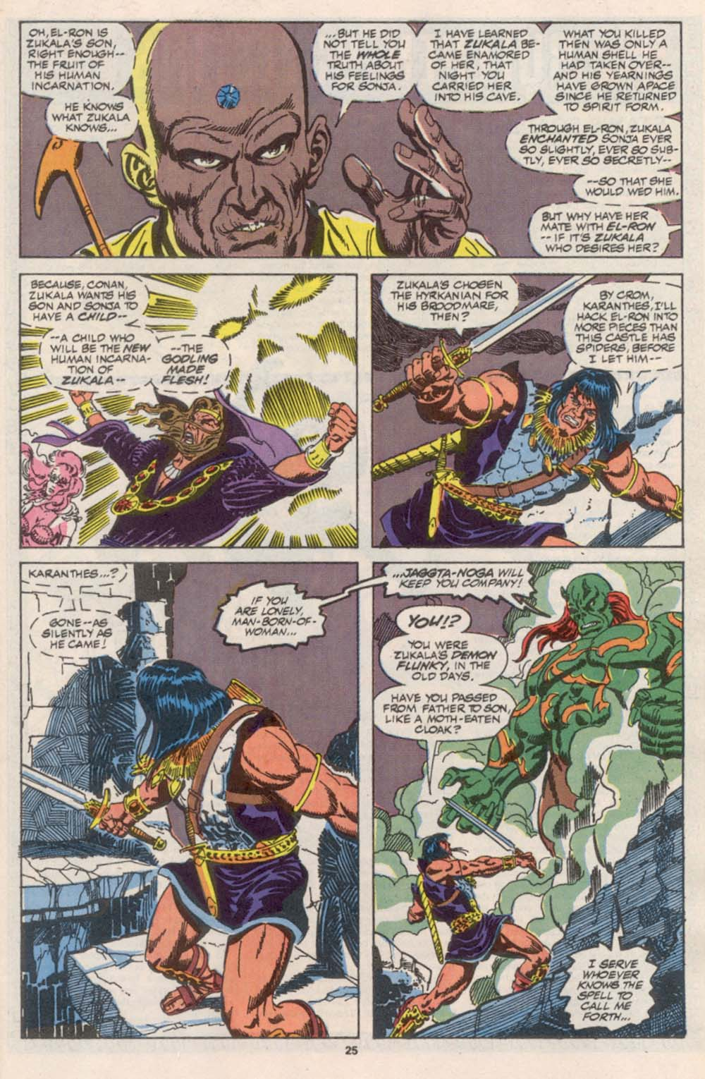 Conan the Barbarian (1970) Issue #242 #254 - English 20