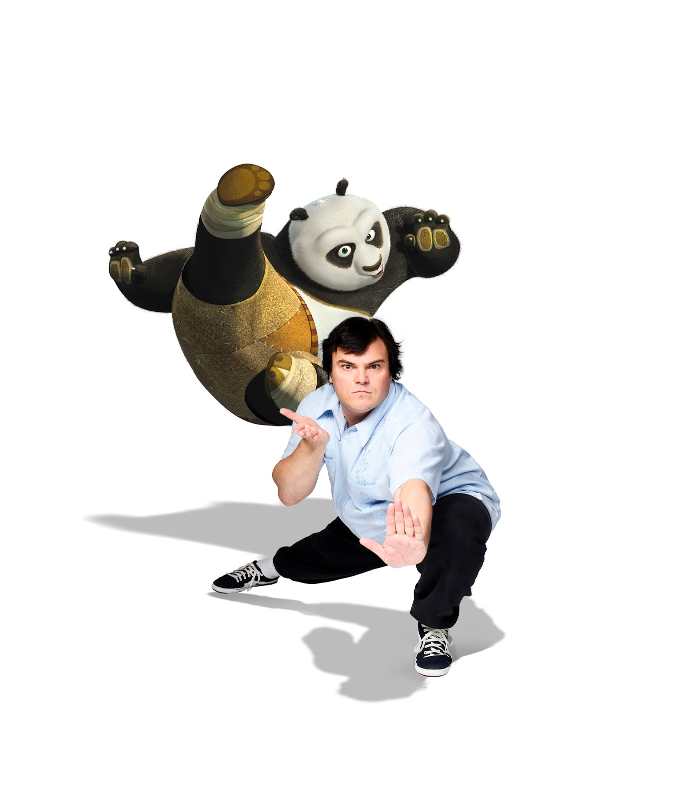 PH Lifestyle Blog ™: Jack Black Milieu As Po In Kung Fu
